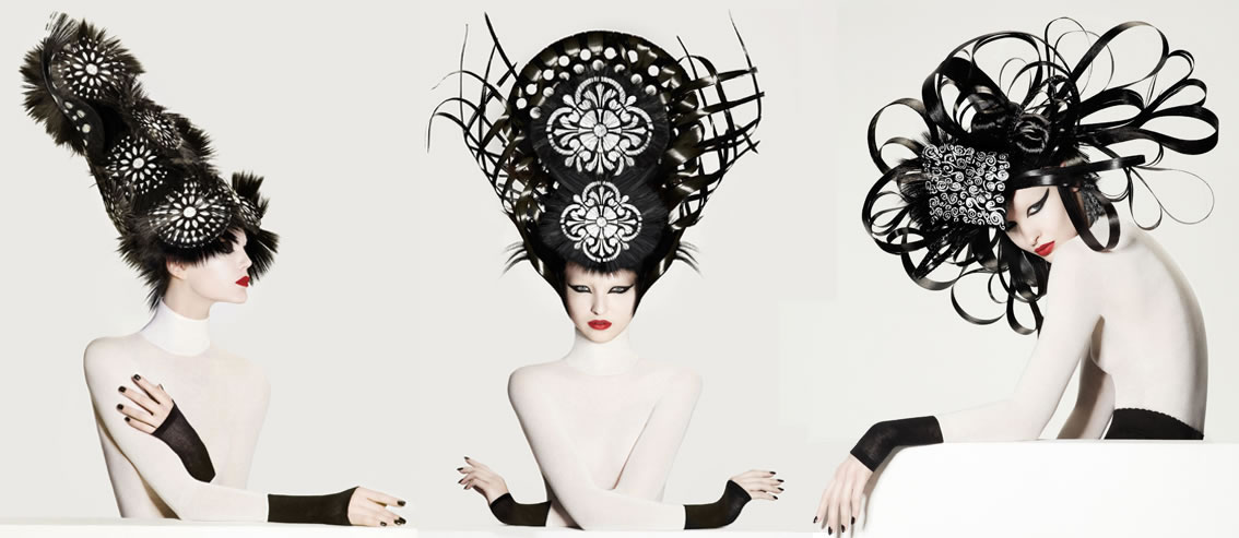 North American Hairstylist of the Year Winner 2012 Photographer: Roberto Ligresti, Make-Up: David Maderich