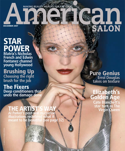 American Salon Products: MATRIX, She by SO.CAP USA Hair Extensions Photographer: Albert Sanchez, Make-Up: Anthea King