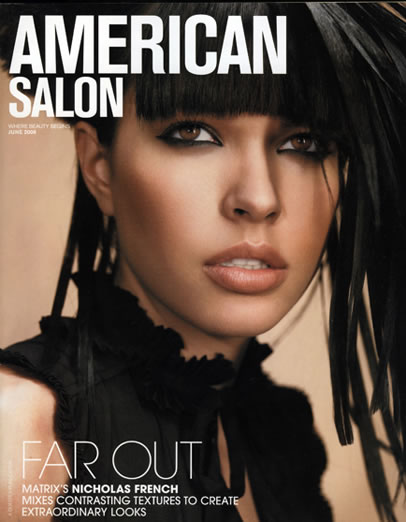 American Salon Products: MATRIX, She by SO.CAP USA Hair Extensions Photographer: Haitem, Make-Up: Marina Andersson