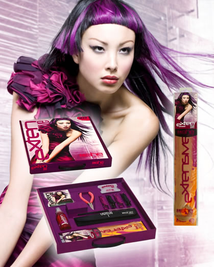 Package Design Products: MATRIX, She by SO.CAP. USA Hair Extensions Photographer: Babak, Make-Up: David Maderich